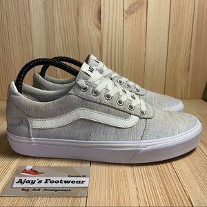 Vans Grey Old Skool Women's Low Top Skate Shoes